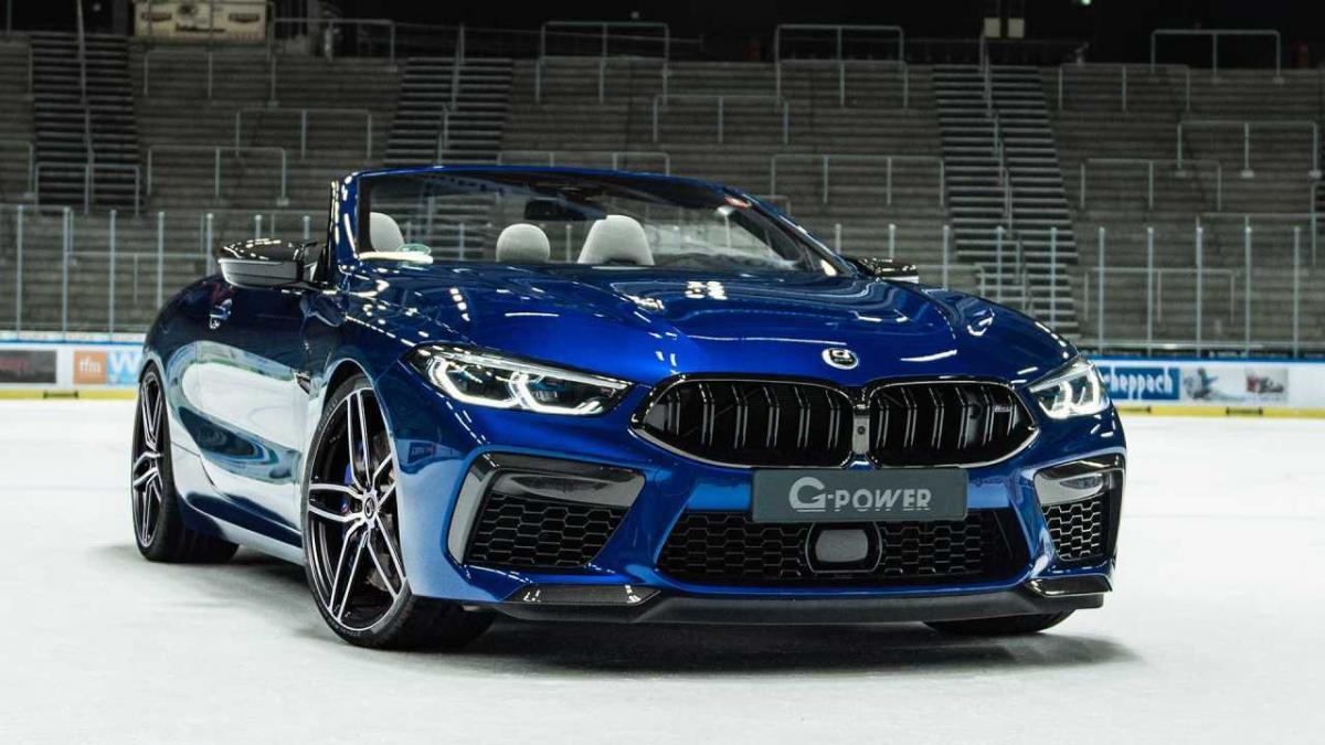 BMW M8 G-Power: extra de potencia y estilo para el M8